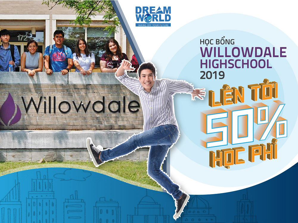 hoc-bong-du-hoc-thpt-canada-hap-dan-2019-willowdale-high-school-dream-world