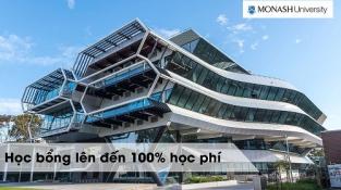 Học bổng 100% từ Đại học Monash - Top 1% các đại học trên thế giới
