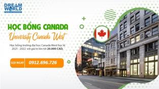 """""""Săn"""" học bổng cao tại đại học Canada West 2022"""