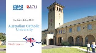 Chương trình Dự bị Đại học mới từ ACU - Melbourne với học phí chỉ từ 10.000 AUD/năm