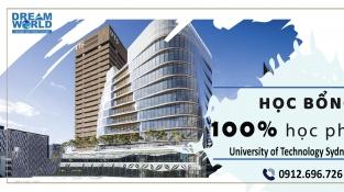 Học bổng tới 100% từ University of Technology Sydney cho kỳ tháng 2/2022