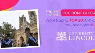 Cập nhật học bổng Anh mới nhất từ trường Đại học Lincoln