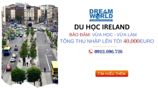 Du học hưởng lương lên đến €40,000 - vừa học vừa làm ngành Hospitality tại Ireland