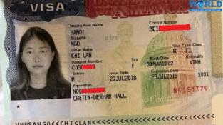 Chúc mừng Ngô Chi Lan đạt visa du học Mỹ với học bổng 30,000 USD