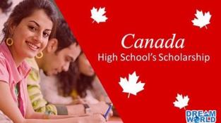 Danh sách học bổng THPT tại Canada 2021/22