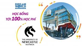 Học bổng 100% từ trường Đại học Newcastle - Top 10 tại Úc